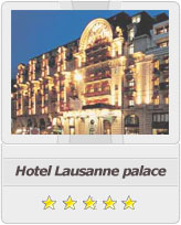Geneva airport taxi to Hotel Lausanne Palace