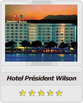 Geneva airport taxi to Hotel President Wilson
