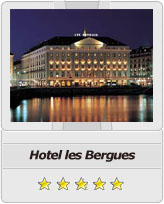 Geneva airport taxi to Hotel les Bergues